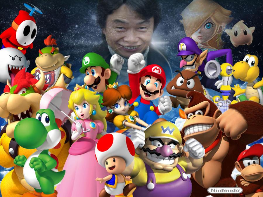 Miyamoto's Creation( Super Mario Universe) by AwesomeQman