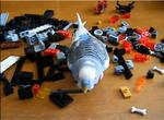 armed to the teeth..um..beak XD by Dnightshade