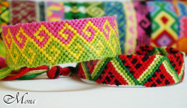 Friendship Bracelets ..33.. by Noomy