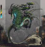 bonsai Dragon ~ creature design