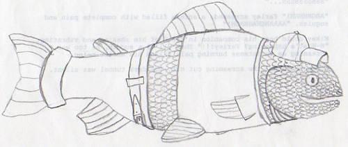 Fish boy by Ananisapta