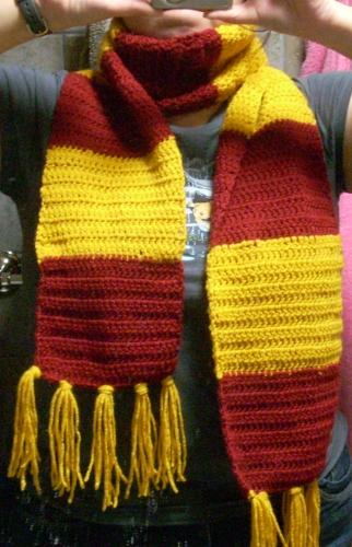 Harry Potter Scarf Crochet 2 By Cideon On Deviantart
