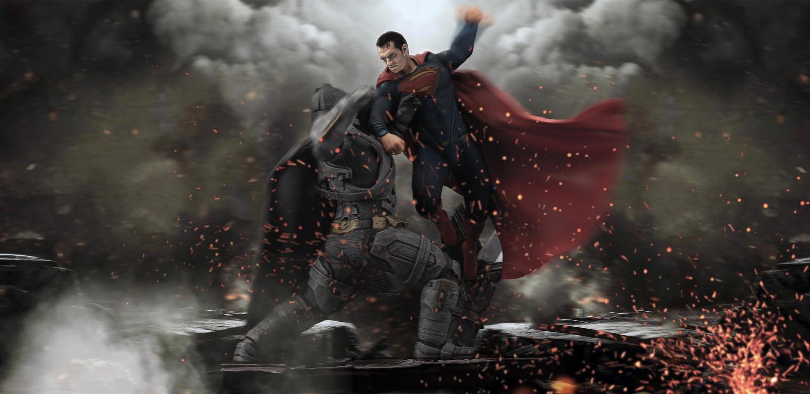 Batman V Superman Fight By DJ Prince Norway Djprincenorway