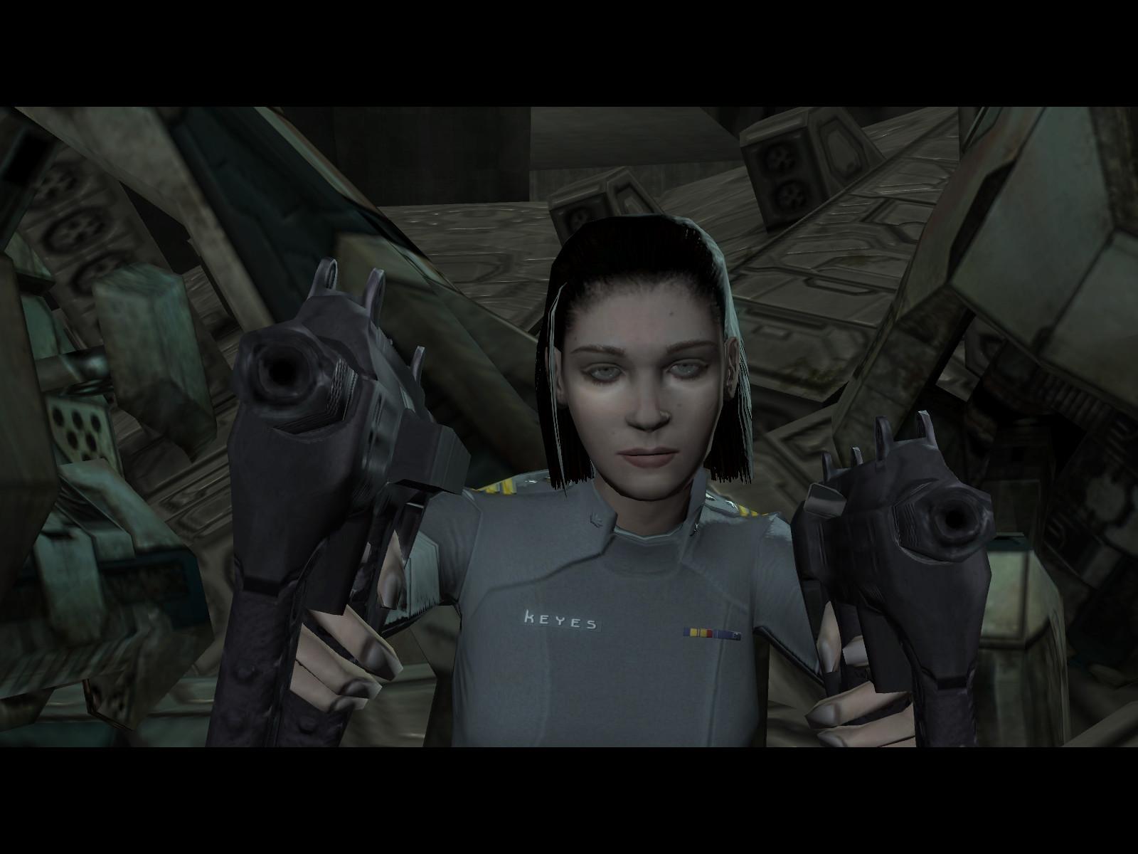 Miranda Keyes Armed 2 by KogoroMouri on DeviantArt