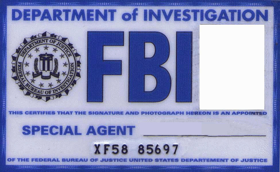 fbi card by kogoromouri on deviantart. Black Bedroom Furniture Sets. Home Design Ideas