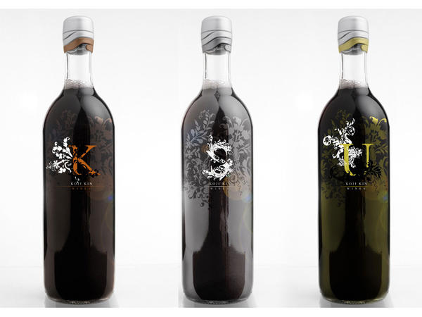 koji kin wine label together by rawn-za