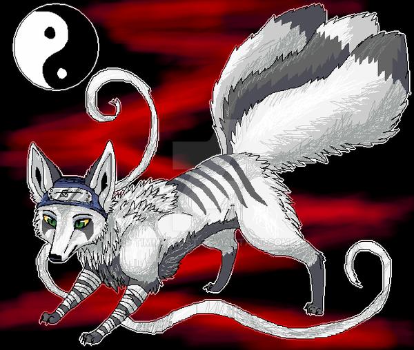 ninja fox.. by timmy-gost