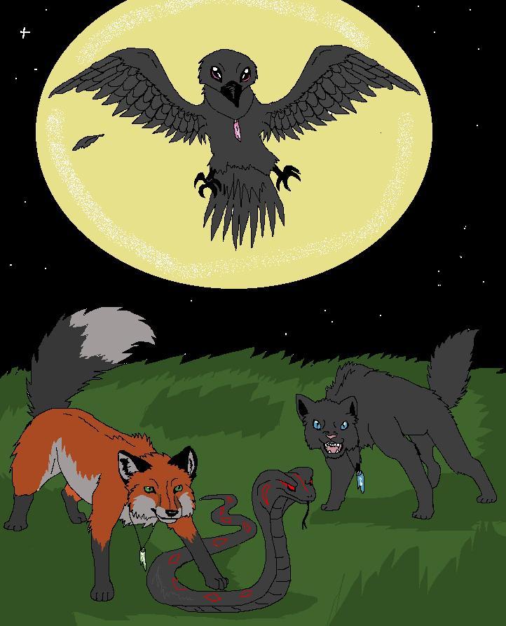 dark witchs by timmy-gost