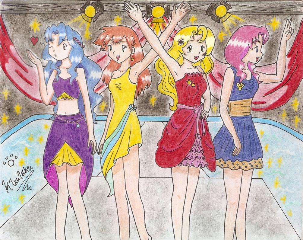 The Sensational Four Sisters By Klautaku On DeviantArt
