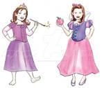 Rapunzel Snowwhite dress up