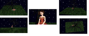 MMD Lonely Stage DL