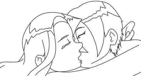 Emily and Ash by circular-illogic