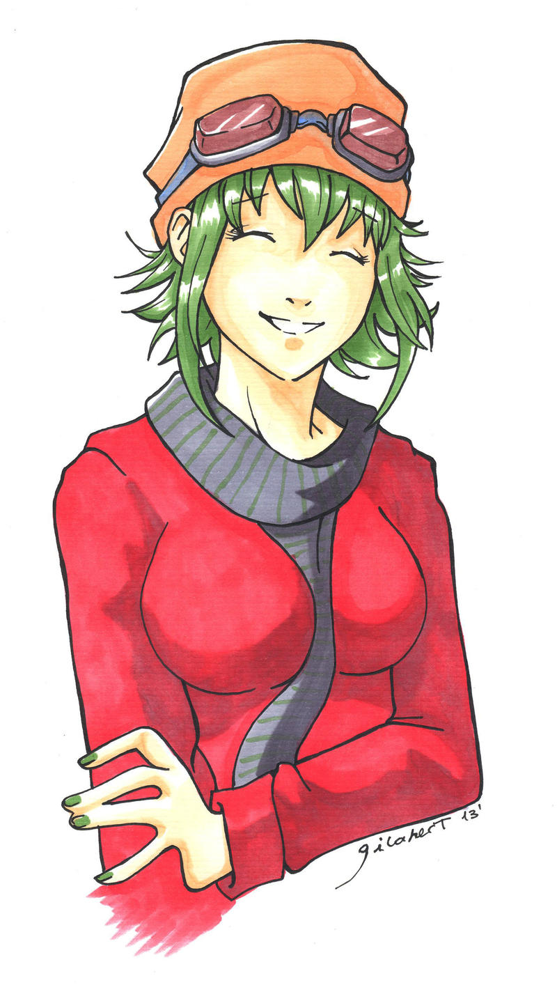 Vocaloid: Gumi: Winter clothes by ekkimu