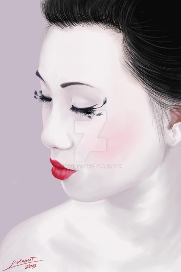 geisha by ekkimu