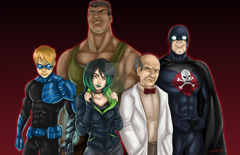 New Villains Final by ekkimu