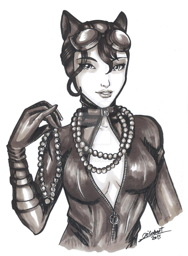 Catwoman- copics by ekkimu