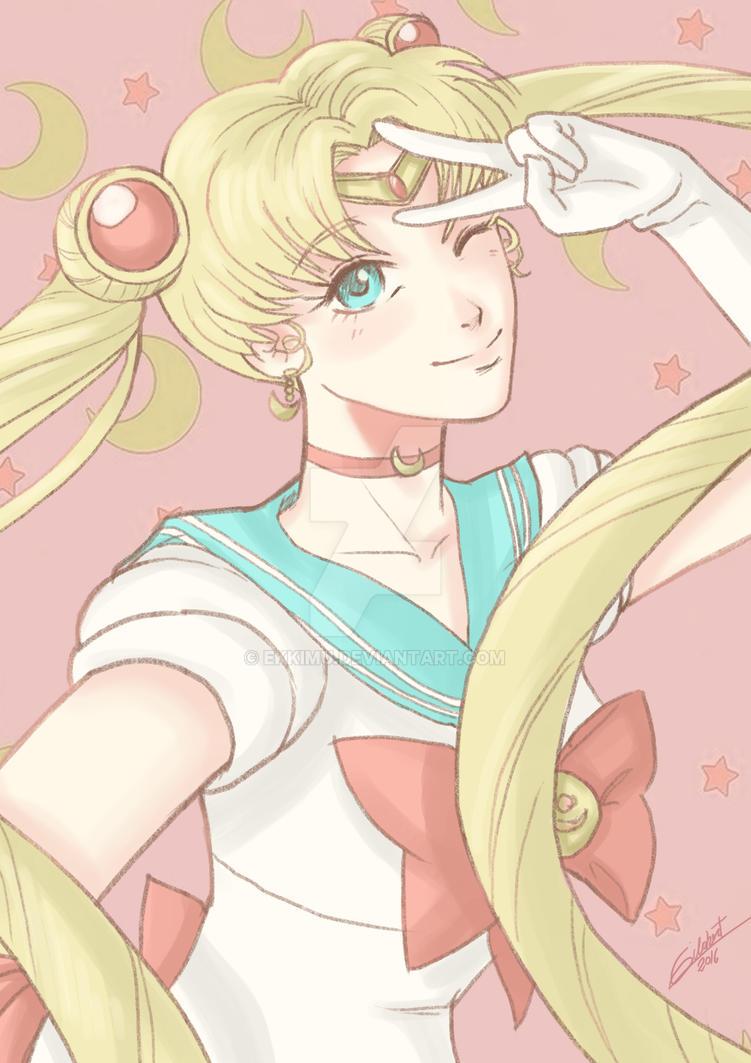 Sailor Moon  Serena- Usagi by ekkimu