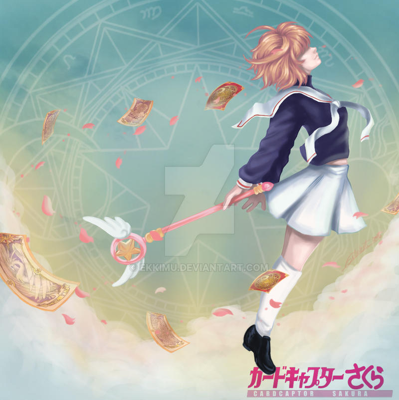Sakura Kinomoto by ekkimu