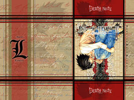 L from deathnote Wallpaper by Hallucination-Walker