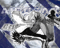 ikki and arrows wallpaper by Hallucination-Walker