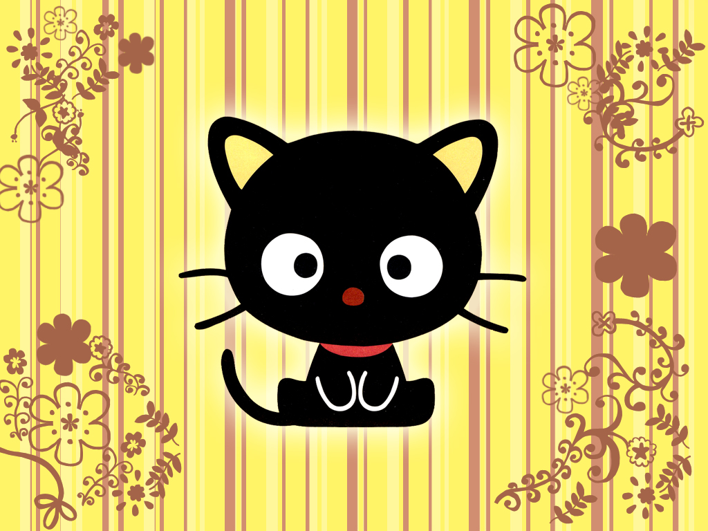 Cool Wallpaper Hello Kitty Orange - yellow_chococat_wallpaper_by_hallucination_walker  2018_204635.jpg