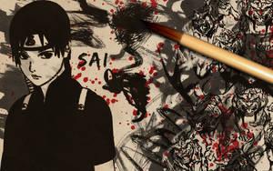 Sai Sumi-e WP by Hallucination-Walker