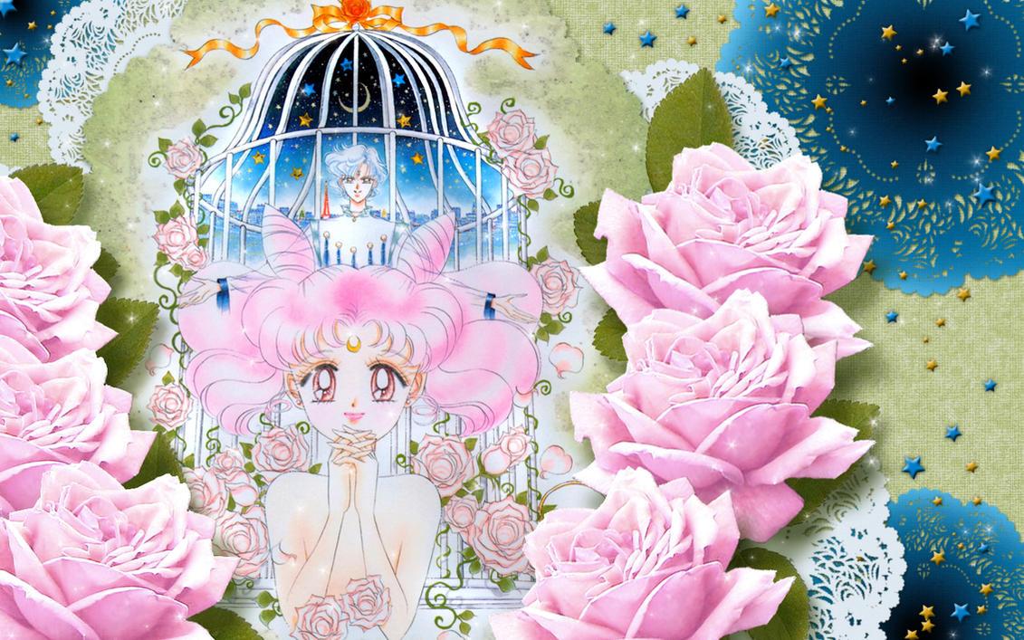 Sailor Chibi Moon + Helios WP by Hallucination-Walker