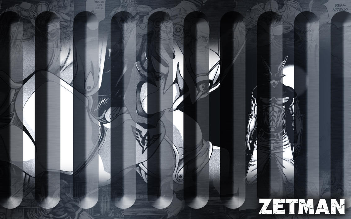 Zetman: Zet and Alphasz WP by Hallucination-Walker