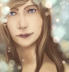 Random digital painting