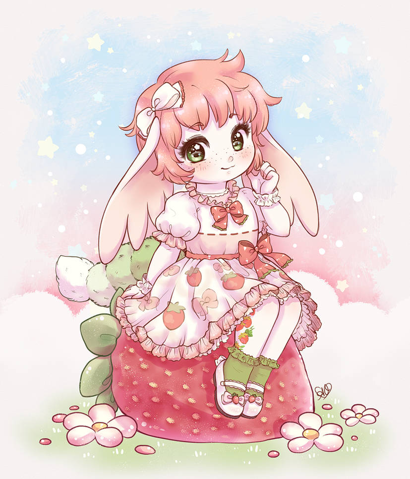 CM :: Strawberry Sit by aprilovebird