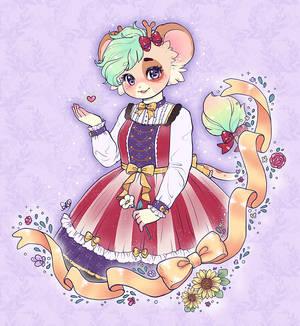 Floral Ribbon :: Penelope