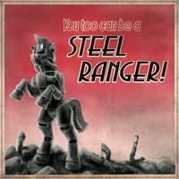FoE - Steel Ranger Recruitment Poster by Droakir