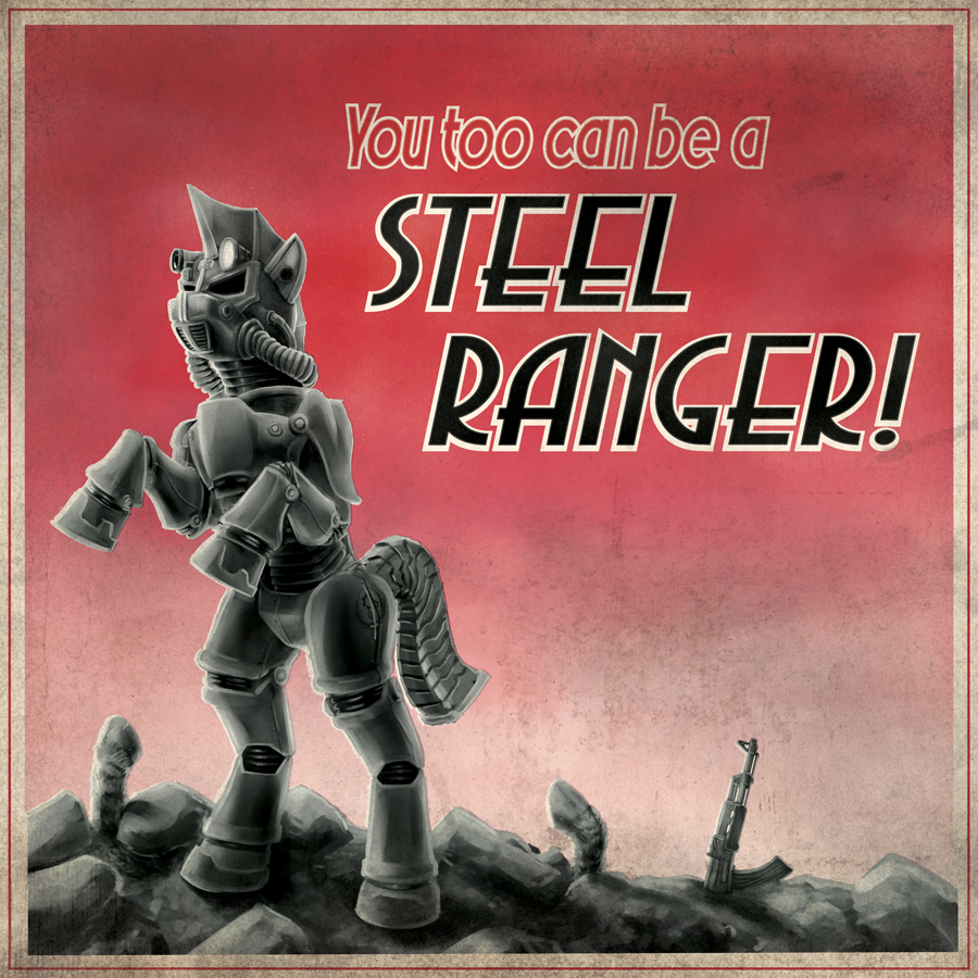 FoE - Steel Ranger Recruitment Poster