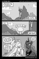 MLP - A Typical Day - 01 by Droakir