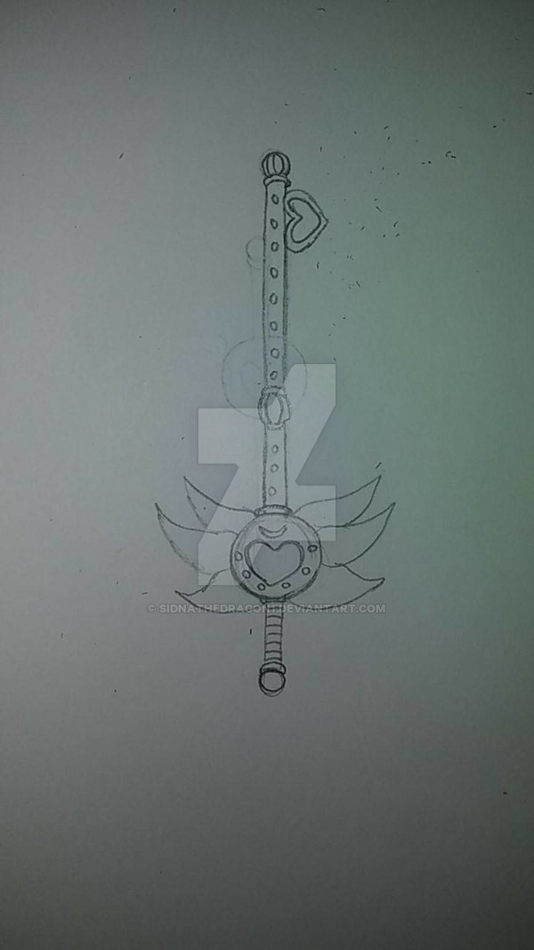 Key Wand by SidnaTheDragon1
