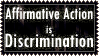 Affirmative Action Stamp by PunkNarumi