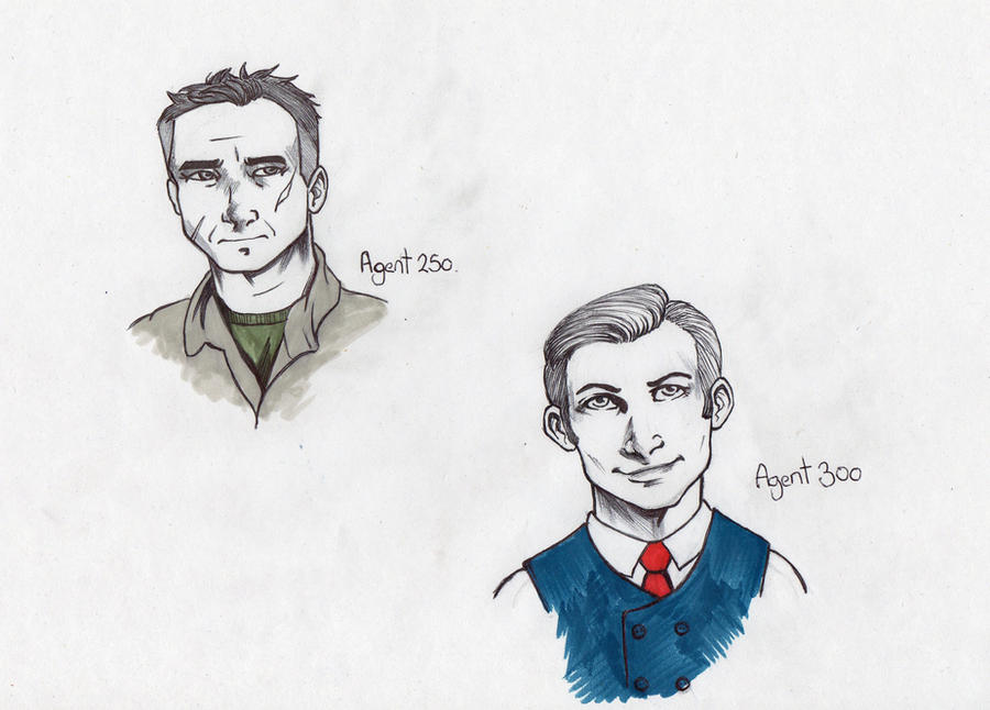 Agents. by lostandnotfound