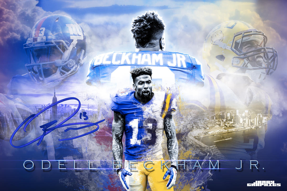 Odell Beckham J... Lsu Football Logo