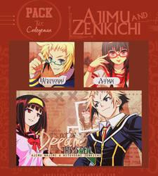Pack: Ajimu and Zenkichi. by LovelyxWolf