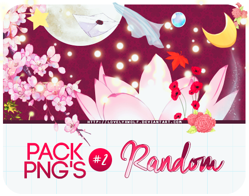 Pack: PNG's #2. by LovelyxWolf