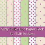 Girly Polka Dot Paper Pack