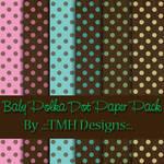 Baby Polka Dot Paper Pack