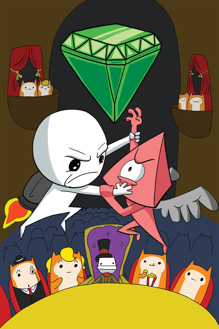 Fight for the Gem!! by jimferno