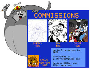 Commissions are OPEN!!