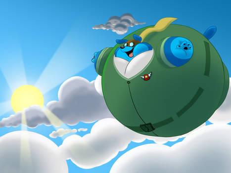 Floating in the Skies