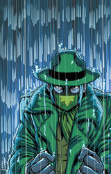 Green Hornet #2 Cover