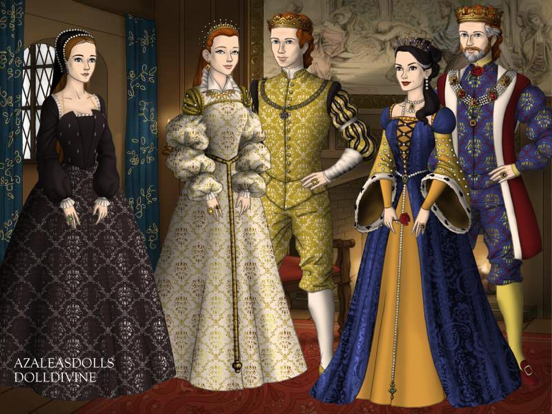 tudors and stuarts House of tudor family tree from king henry vii (1485 - 1509) to queen elizabeth i (1558 - 1603.