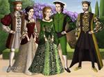 AU Tudor and Valois