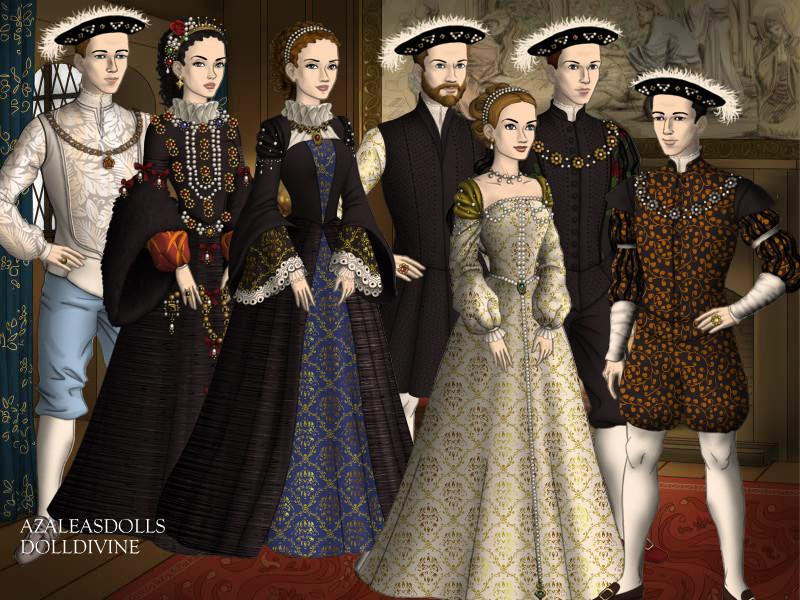 Henry II and Catherine of France's Kids by TFfan234