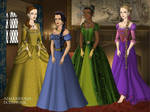 Disney Princesses 3 Tudor Style